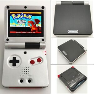 Black White Special Game Boy Advance GBA SP Console AGS 101 Backlit Brighter
