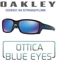 Occhiali Sole OAKLEY STRAIGHTLINK 9331 04 sport sunglasses sonnenbrillen BLUE IR
