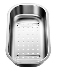 Blanco COLANDER SUITS MCLSIF SINK 357x182mm For Rinsing/Draining Stainless Steel