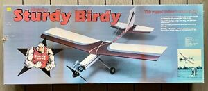 Brand New NOS 1989 Original Hobbico Sturdy Birdy RC Trainer Kit