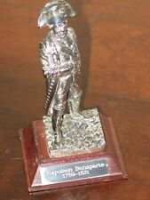 Royal Hampshire - Military Pewter Figurine - Napoleon Bonaparte 1769-1821
