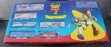 NOS TOY STORY 2  ELECTRIC TRAIN SET HO SCALE 1999 WALT DISNEY FACTORY SEALED NEW