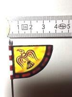 804 1x 25mm 28mm Scottish Heritage Highland LAMONT Clan Banner Tartan