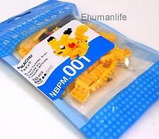 Kawada NBPM-001 nanoblock nano block Pokemon Pikachu Puzzle Mini Building Figure
