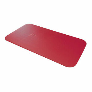Airex Corona 185 Workout Fitness Foam Gym Floor Yoga Mat Pad for Exercising, Red