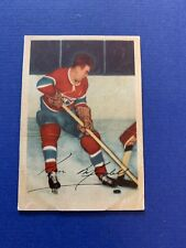 1953-54 Parkhurst #33 Ken Mosdell Montreal Candiens VG-EX