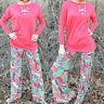 Mujer Yoga Hippy Holgado Pantalones Palazzo Floral cintura alta Largo Ancho