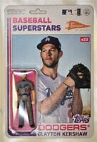2020 Topps Big League Super7 MLB Action Figure #22 Clayton Kershaw - Dodgers