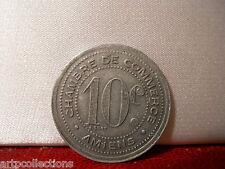 1920 JETON NECESSITE CH COMMERCE 10C AMIENS