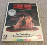 Blood Rage (Blu-ray, 2015, 3-Disc Set) Limited Edition Slipcover OOP Horror New