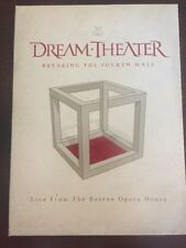 Dream Theater: Breaking the Fourth Wall (Live from Boston Opera) (DVD, 2014)