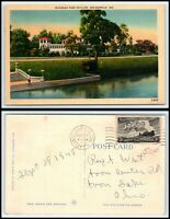 INDIANA Postcard - Indianapolis, Riverside Park Pavilion N55