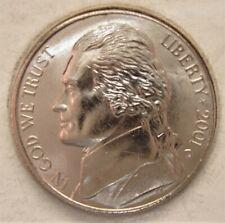 2001 D  BU Jefferson Nickel Pulled From OBWRoll