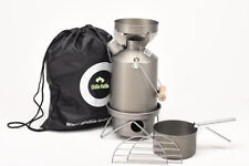 Ghillie Kettle 1.0L Explorer Full Kit Hard Anodised.