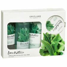 Oriflame Pure Nature Tea Tree and Rosemary Facial Kit For Combinati Freeshipping