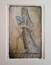 Dominic Murphy ARTE surreale strano limitata aggiunta stampa XIII La morte dei tarocchi
