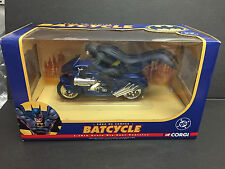CORGI BATMAN BATCYCLE 2000 DC COMICS 77404 1:16 MINT RARE JUNIORS DIECAST CAR
