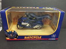 CORGI BATMAN BATCYCLE 2000 DC COMICS 77404 1:16 MINT RARE JUNIORS DIECAST CAR