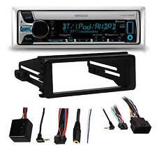 KMRD765BT Marine Bluetooth CD Receiver,99-9600 Harley FLHT FLHX Adapter Dash Kit