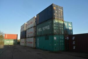 Second-Hand 20ft Container - Low Cost Delivery Nationwide