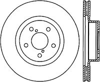 StopTech 125.61060CRY Brake Rotor