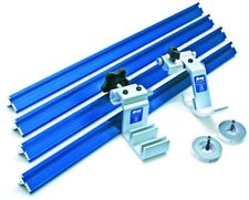 Precision Track Stop System Aluminum Miter Saw Power Tool Accessories Blue New