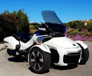 "CAN-AM SPYDER F3-T, F3 LIMITED LOW BOY CLEAR, 18"" TALL W/ FLIP WINDSHIELD"