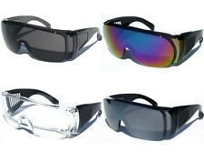 Men Women Fits over RX Glasses Safety Sunglasses Goggles Protection