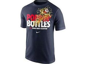 New Licensed Boston Red Sox 2013 World Series Champions Team Nike T-Shirt Size S