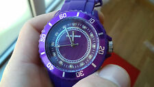 TIME FORCE PASSADENA WOMEN WATCH TF4024L08 purple & DIAMOND OROLOGIO MONTRE uhr
