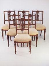 Walnut Regency Edwardian Chairs (1901-1910)