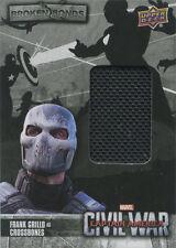 Captain America Civil War Costume Card BB-CR Frank Grillo as Crossbones