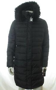 BNWT RALPH LAUREN WOMEN BLACK QUILTED LONG DOWN COAT JACKET SIZE XL RRP £355