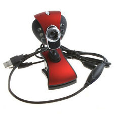 USB 50.0 Mega 6 LED HD Webcam Camera with MIC for Computer PC Laptop Excellent