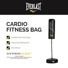 Everlast Cardio Fitness Punching Striking Bag Stand Gym Training Boxing 162cm