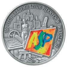 2004 POLAND SILVER PROOF- 100th Anniversary of Foundation of Fine Arts Academy