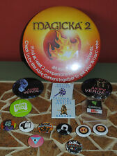 Pax East 2015 Pins MAGICKA 2, Indie Developer Pins, Axiom Verge and more NEW