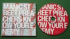 Manic Street Preachers Know Your Enemy inc My Guernica + CD