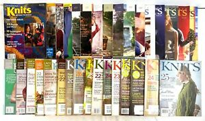 Interweave Knits Magazine Lot of 32 Various Issues 1996-2013 Assortment Craft