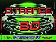 D.TRANCE 80 (INCL.D.TECHNO 37)  4 CD NEU