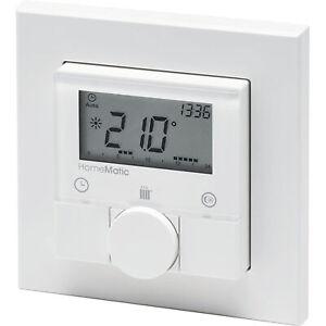 ELV Homematic ARR-Bausatz Funk-Wandthermostat HM-TC-IT-WM-W-EU, für Smart Home /