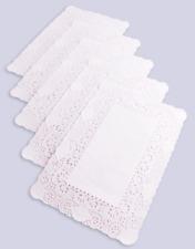 More details for rectangular paper doilies doyley doylies 14