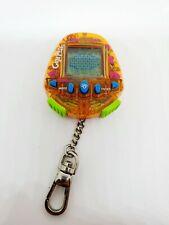 Giga Pet Plus Farm Orange Vintage 1997 Tiger Electronic Virtual Pet Keychain