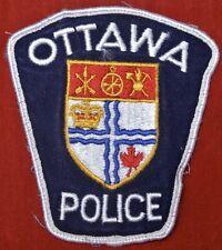 Vintage OTTAWA POLICE PATCH - Nice - OBSOLETE