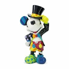 Disney by Britto Mickey Mouse Top Hat Vibrant and Colorful Hand-Painted Figurine