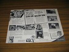 1952 Print Ad Kodak Signet Camera with Ektar Lens Rochester,New York