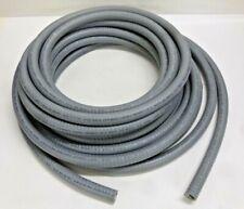 "6100-Series Flexible Metallic Liquid Tight Conduit, 1/2"" x 50 ft., 2"" Bend, Gray"