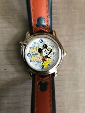 Mickey Disney Lorus Musical Plays 'Mickey Mouse March' R2302AX Unworn Watch $125
