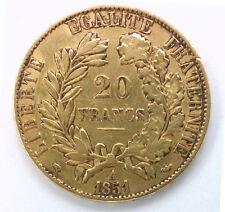 20 Francs Or 3EME REPUBLIQUE - 1851 A PARIS