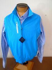 Bobby Jones X-H20 Performance Polyester Gilet Full Zip Vest NWT  Large $130 Blue
